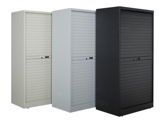 Perm-A-Store 54h Cabinet with (8) Multimedia Shelves