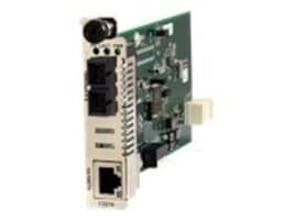 Transition 2KM 10 100TX to 100FX Ion Card RJ45 to MM ST, C2210-1011, 11881211, Network Transceivers