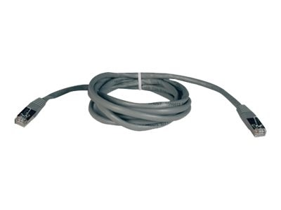 Tripp Lite Cat5e 350Mhz Shielded Patch Cable Gray 50ft, N105-050-GY, 5916131, Cables