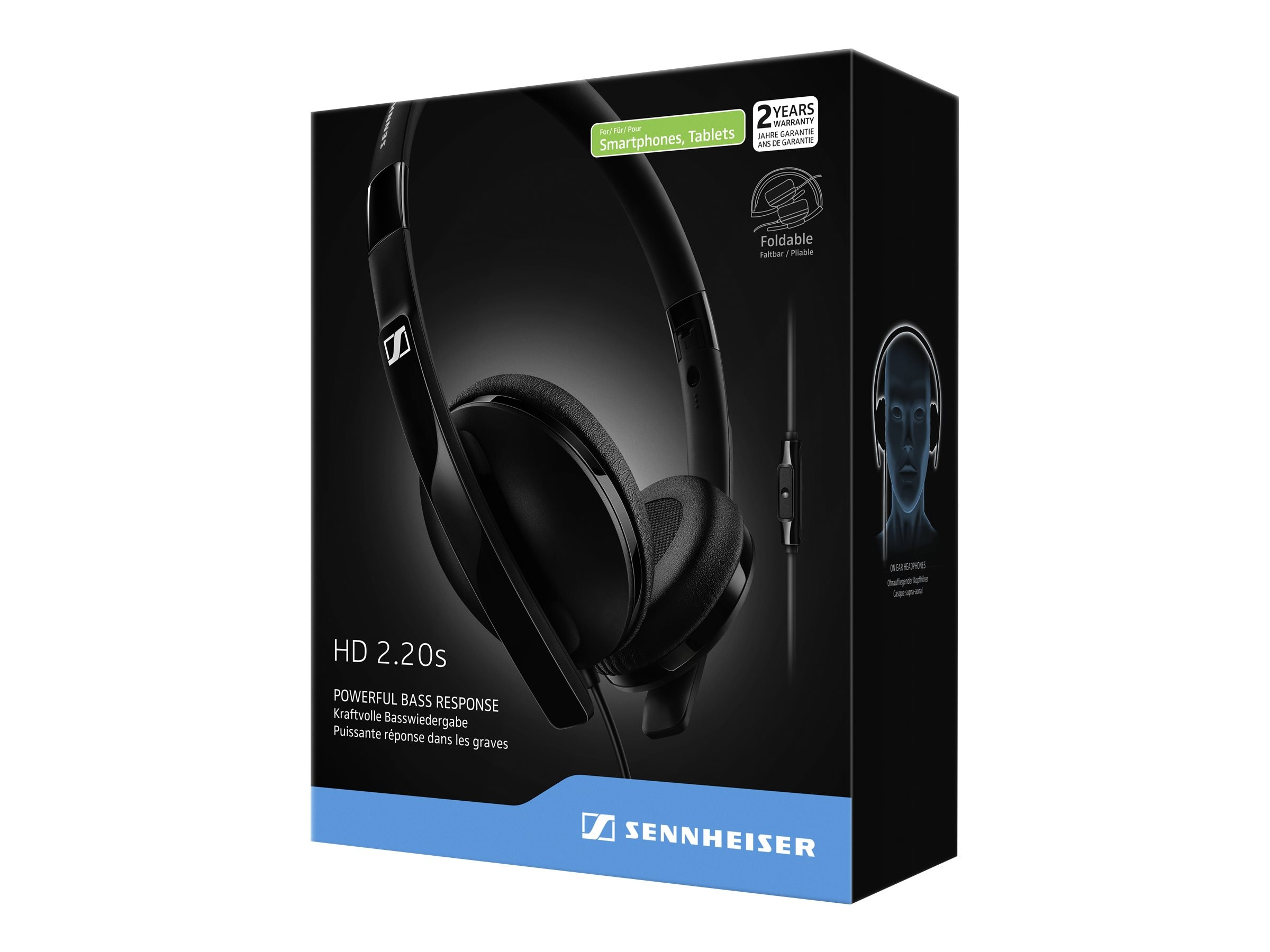 Sennheiser Closed Back On Ear Headphones