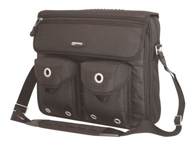 Mobile Edge The Edge Messenger Bag, Black, MEEMB1, 8529128, Carrying Cases - Notebook