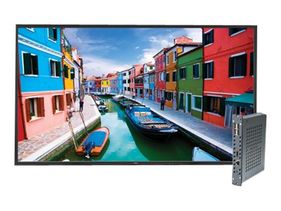 NEC 46 V463-PC Full HD LED-LCD Display with Single Board Computer, Black