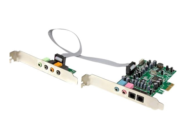 StarTech.com 7.1 Channel 24-bit PCIe Sound Card, PEXSOUND7CH, 20861967, Sound Cards