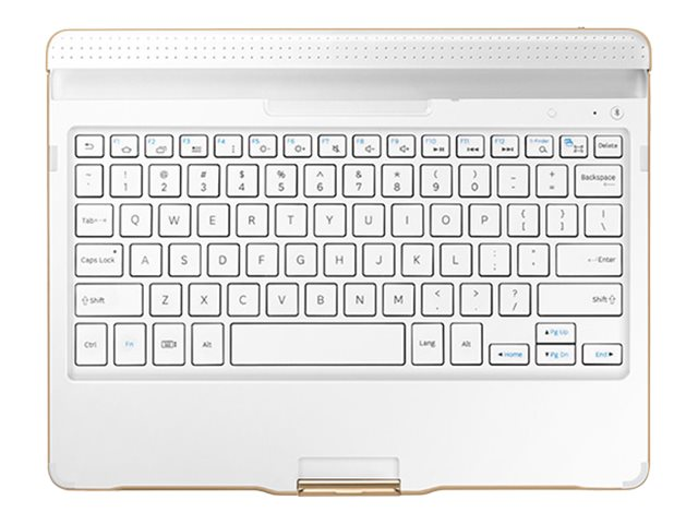 Open Box Samsung Bluetooth Keyboard Case for Galaxy Tab S 10.5, Dazzling White, EJ-CT800UWEGUJ, 30844319, Keyboards & Keypads