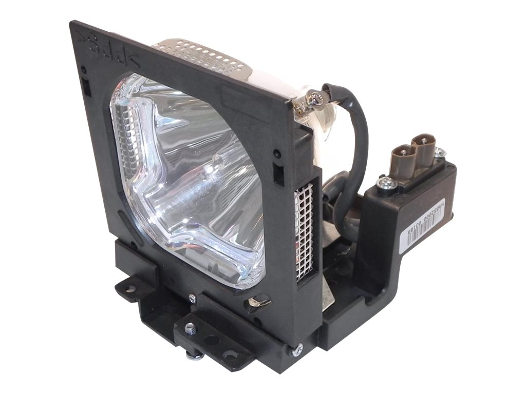 Ereplacements Front projector lamp for Sanyo PLV-WF10. Replaces 610-309-3802, POA-LMP73-ER, 8924902, Projector Lamps