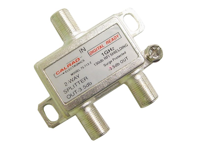 Calrad 2-Way 1GHz 130db Digital Splitter, 75-713-2