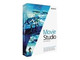 Sony Corp. Movie Studio 13 Platinum, MSPMS13000, 17978988, Software - Video Editing