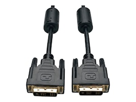 Tripp Lite DVI-D Single-Link M M Digital TMDS Monitor Cable, Black, 6ft, P561-006, 4944771, Cables