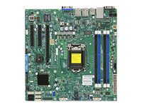 Supermicro Motherboard, Haswell UP X10SLM-F, MBD-X10SLM-F-O, 15792186, Motherboards