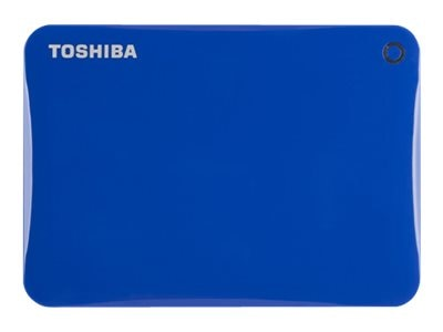 Toshiba 3TB Canvio Connect II Hard Drive - Blue, HDTC830XL3C1