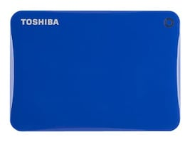 Toshiba 2TB Canvio Connect II Hard Drive - Blue, HDTC820XL3C1, 18234614, Hard Drives - External