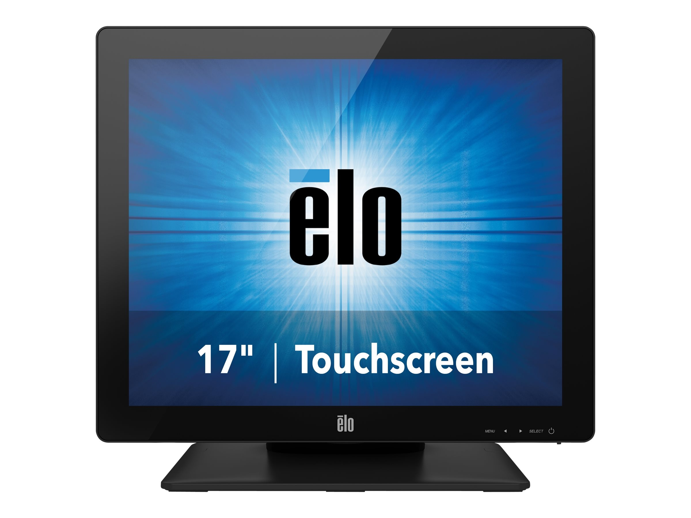 ELO Touch Solutions 17 1717L LED-LCD IntelliTouch Monitor, Black