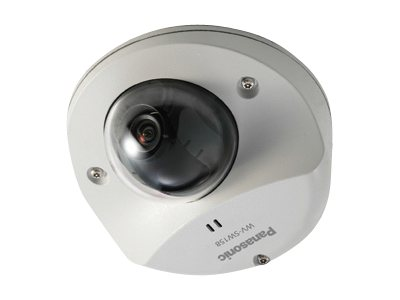 Panasonic Super Dynamic Full HD Vandal Resistant Dome Network Camera, WV-SW158