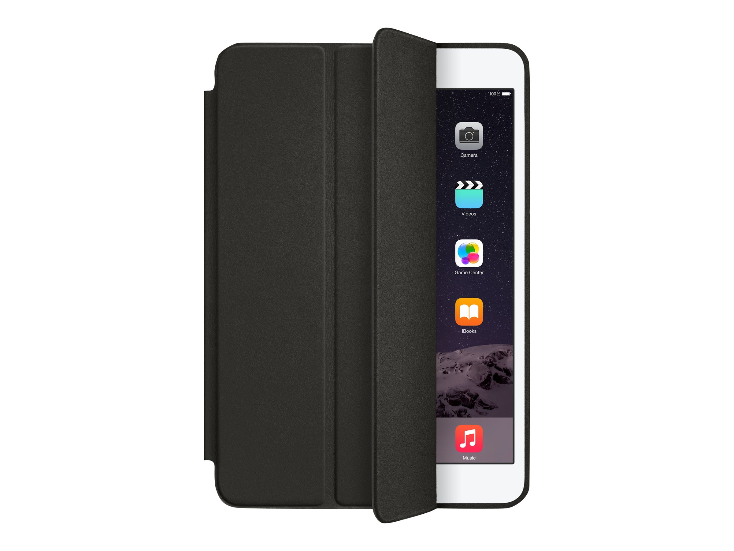 Apple iPad mini Smart Case, Black, MGN62ZM/A, 20592402, Carrying Cases - Tablets & eReaders