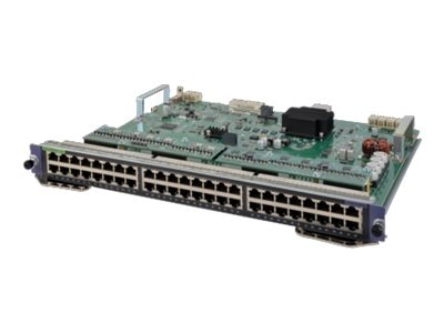 HPE 7500 48-Port 1000BASE-T w PoE+ SE MOD, JH213A, 30595501, Network Device Modules & Accessories
