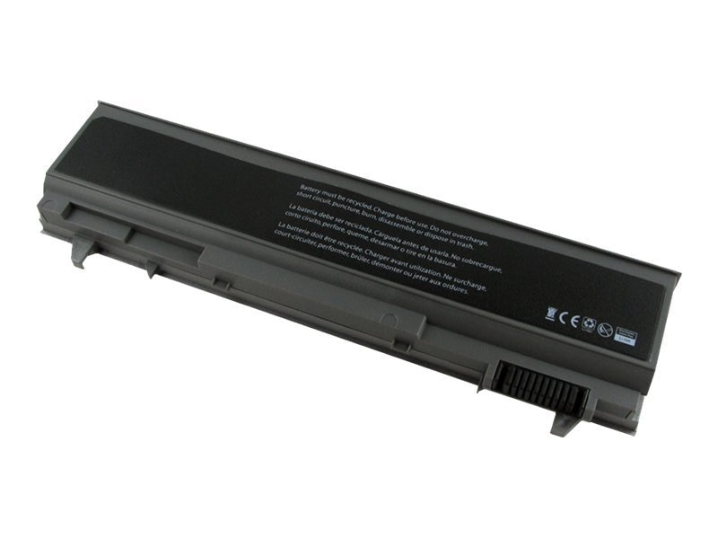 V7 Battery, 6-Cell for Dell Latitude E6400 Precision M2400 M4400, DEL-E6400V7, 12917019, Batteries - Notebook
