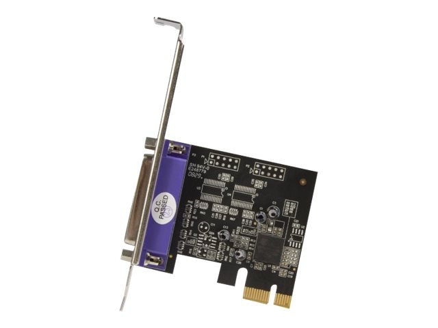 StarTech.com 1-Port PCI Express Dual Profile Parallel Adapter Card
