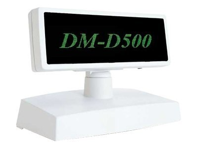 Epson DM-D500-111 Graphics Customer Display Dark Gray for All TM IR Order with Base, B113111, 6313323, POS Pole Displays
