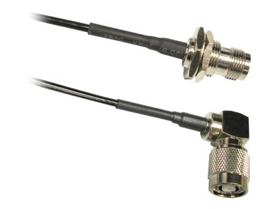 TerraWave RP-TNC M F Jumper Coaxial Cable, 1ft