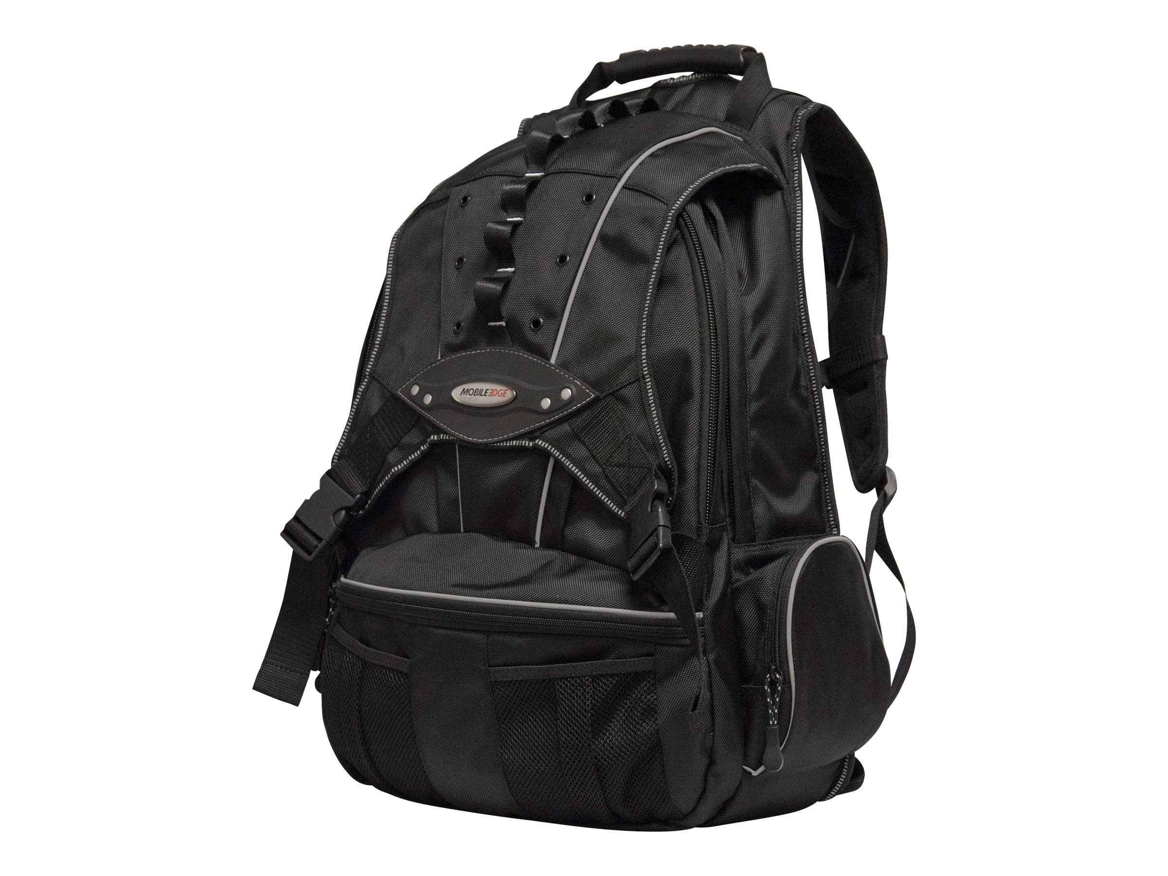 Mobile Edge Premium Backpack, Nylon, Charcoal Black, MEBPP1, 6226431, Carrying Cases - Notebook