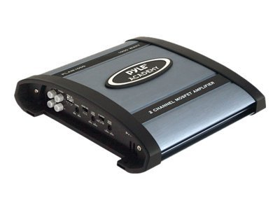 Pyle 1000 Watt 2-Channel Bridgeable Amplifier, PLAM1000