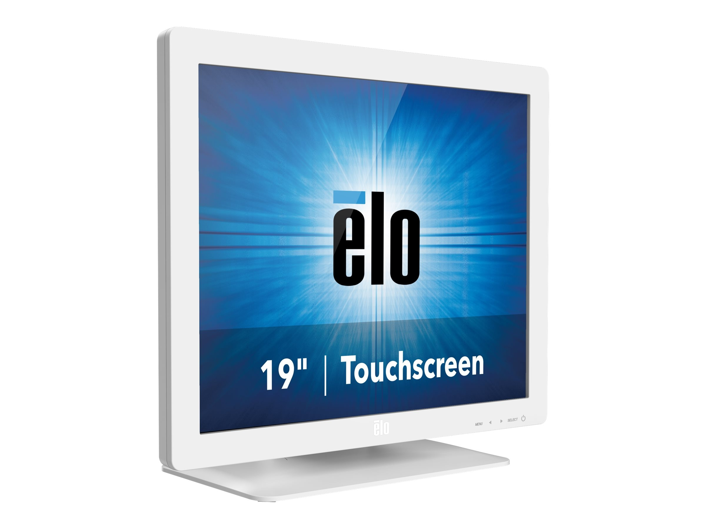 ELO Touch Solutions 19 1929LM LED-LCD AccuTouch Touchscreen Monitor, White, E000169