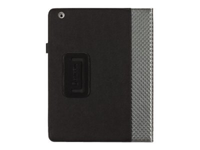 Griffin Elan Folio Armor Case for iPad 3, Black, GB03851, 13815225, Protective & Dust Covers