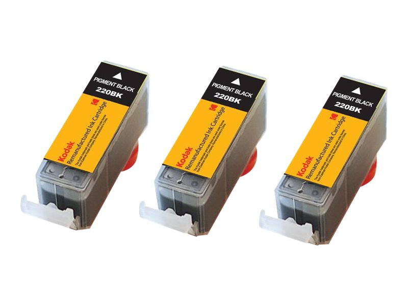 Kodak 2945B004 Black Combo Ink Cartridge Pack for Canon PIXMA, 2945B004-KD