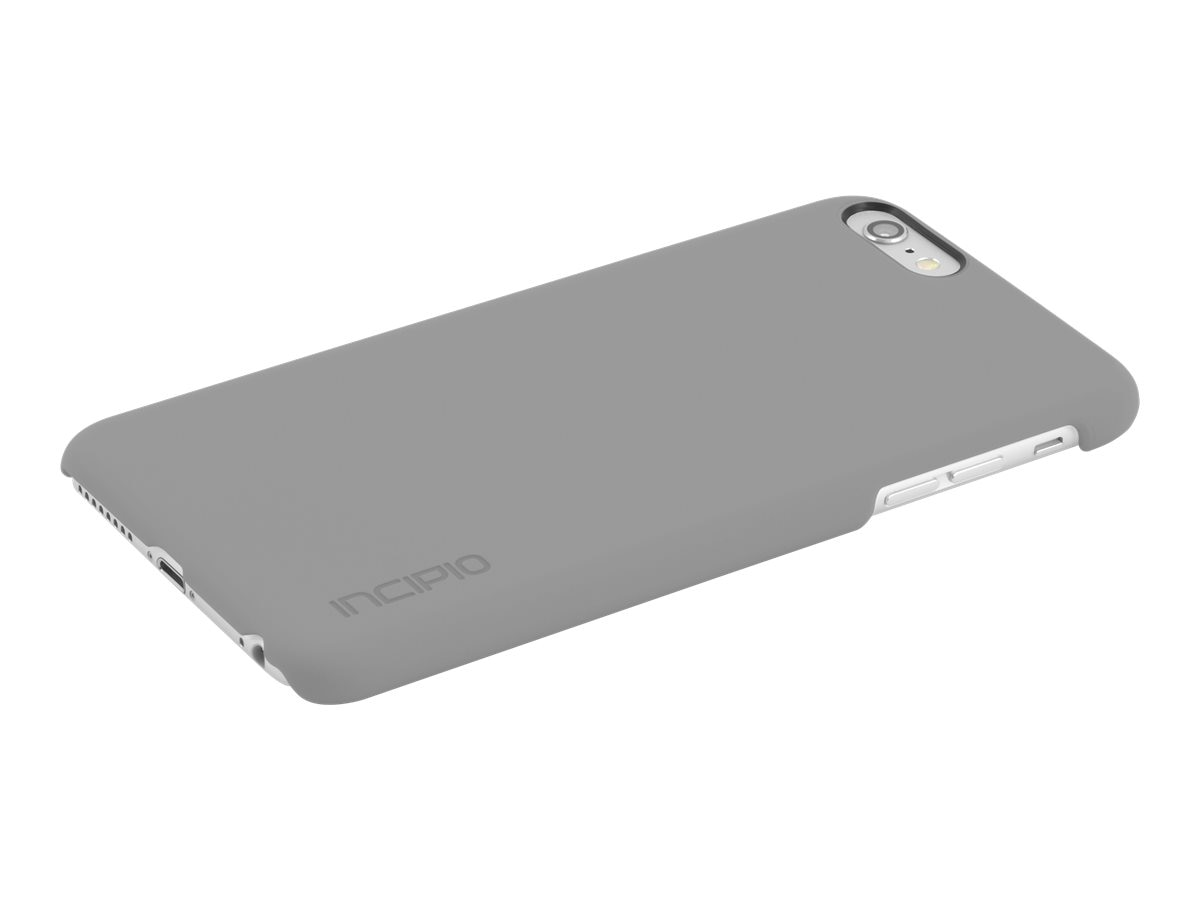 Incipio Feather Case for iPhone 6S Plus, Gray, IPH-1360-GRY