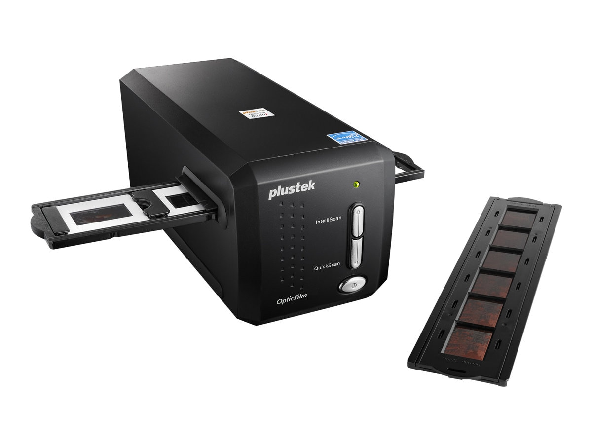Plustek OpticFilm 8200i Ai 35mm Film Scanner, 7200dpi, 48-bit, USB 2.0, SilverFast Ai Studio 8, 783064365338