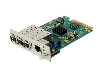 ACP-EP 1Gbps RJ-45 to 3-port SFP Media Converter