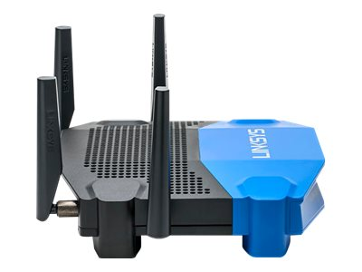 Linksys AC3200 Dual-band Smart WiFi Router with GE, USB 3.0 & ESATA, WRT3200ACM