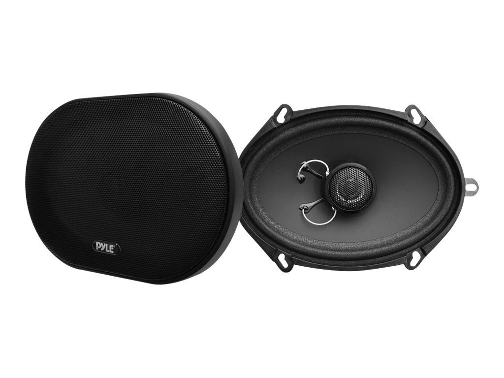 Pyle 5X7 6X8 180W Slim Mount 2-Way Coax Speaker System, PLSL5702, 18518801, Speakers - Audio