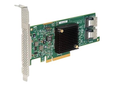 LSI LSI SAS 9207-8i 8-port 6Gb s SATA+SAS PCIe 3.0 Low Profile HBA, H5-25412-00, 31538786, Host Bus Adapters (HBAs)