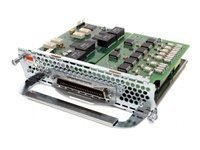 Cisco High-density analog and digital extension module for voice and fax