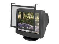 Fellowes 16in Standard Filter With Black Frame, 93785, 5107587, Glare Filters & Privacy Screens