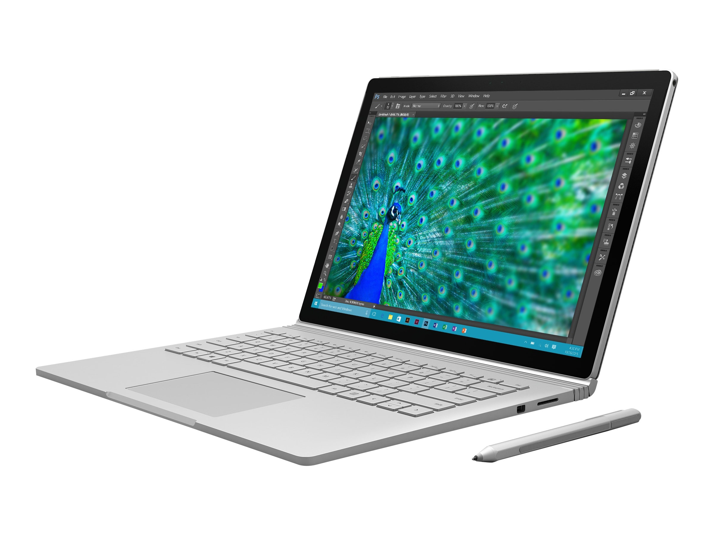 Microsoft Surface Book Core i5 dGPU 8GB 256GB w 3-Yr Complete for Business with ADP, 6E3-00001