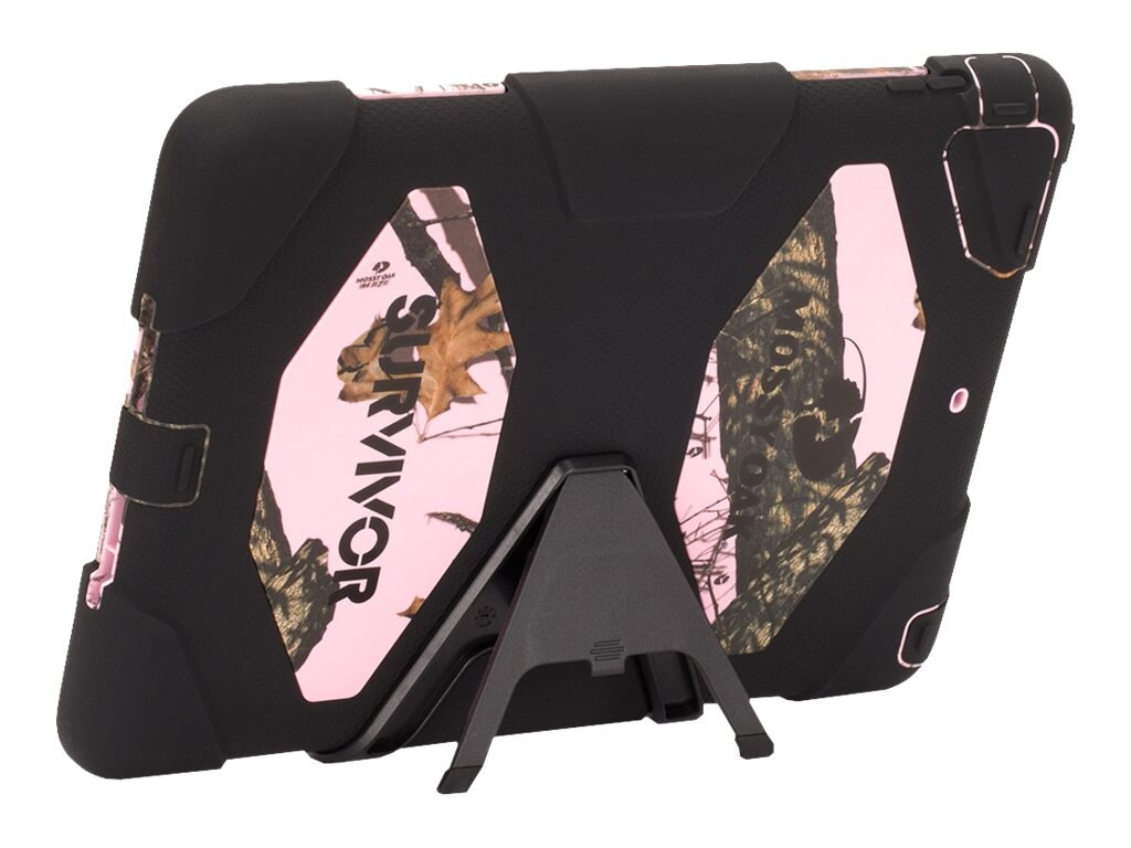 Griffin Survivor Mossyoak for iPad Air, Black Pink
