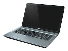 Acer Aspire E1-731-4699 2.4GHz Pentium 17.3in display, NX.MGAAA.004, 16746165, Notebooks