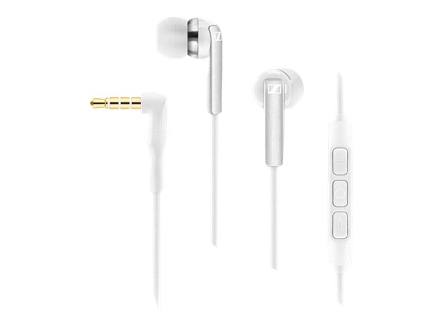 Sennheiser Mobile Galaxy Headphones - White, CX2.00G White