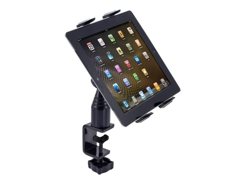 Arkon Heavy-Duty Desk or Cart Tablet Clamp Mount for iPad, Galaxy