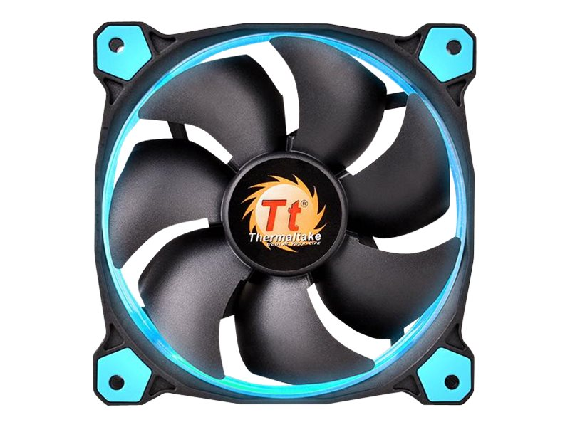 Thermaltake Riing 14 High Static Pressure Radiator Fan 140mm LED 1400 RPM, Blue