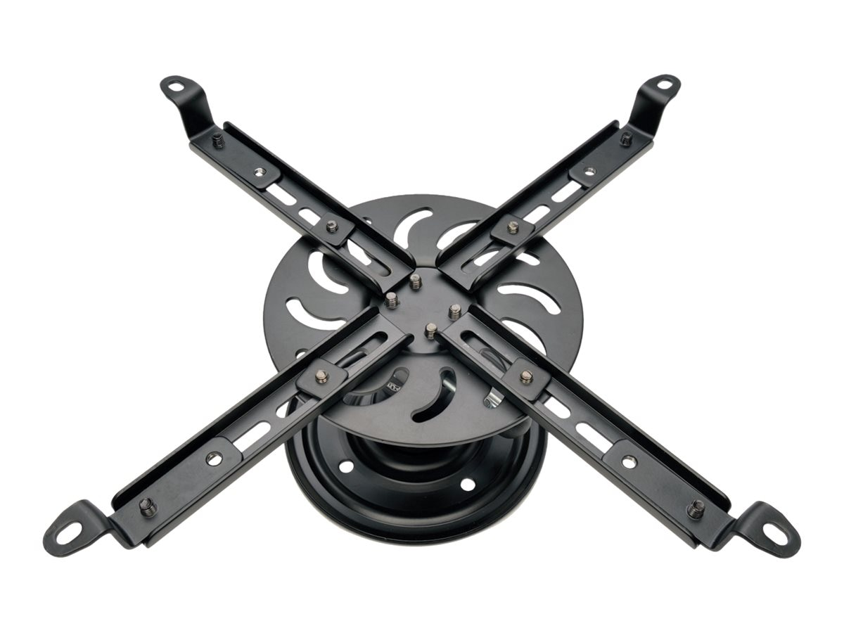 Tripp Lite Full Motion Universal Ceiling Mount for Projectors up to 55 pounds, Black, DUNVPJT