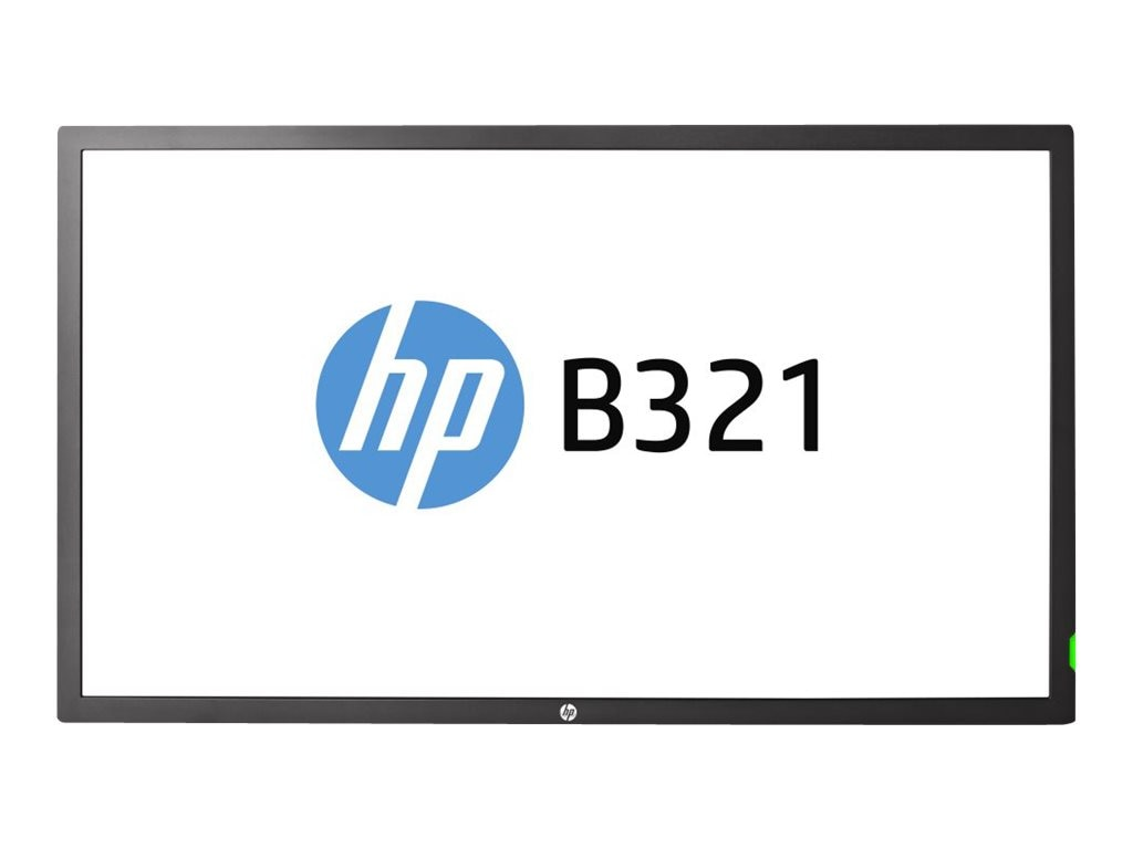 HP Smart Buy 31.5 B321 Full HD LED-LCD Display, Black, F6N37A8#ABA, 17691864, Monitors - Large-Format LED-LCD