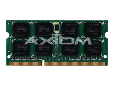 Axiom 4GB PC3-8500 DDR3 SDRAM SODIMM Kit for Apple Models, AX27491834/2, 9518973, Memory