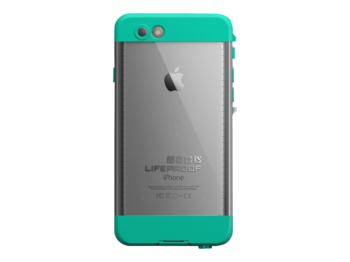 Lifeproof Nuud Riptide for iPhone 6, Teal, 77-50866, 18817385, Carrying Cases - Phones/PDAs