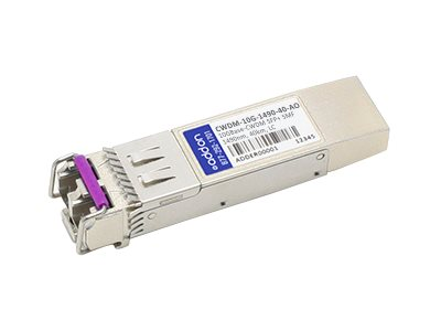 ACP-EP 10GBASE-ER CWDM LC SFP+ 1490NM 40KM for Cisco, CWDM-10G-1490-40-AO