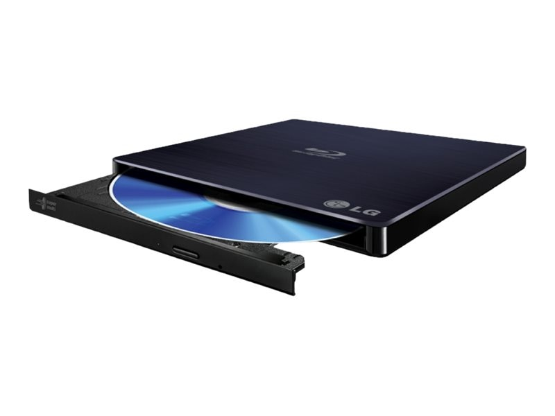 LG 6x WP50NB40 External BDRW-XL USB M-DISC Cyberlink Slim Tray Drive, WP50NB40, 26413882, Blu-Ray Drives - External