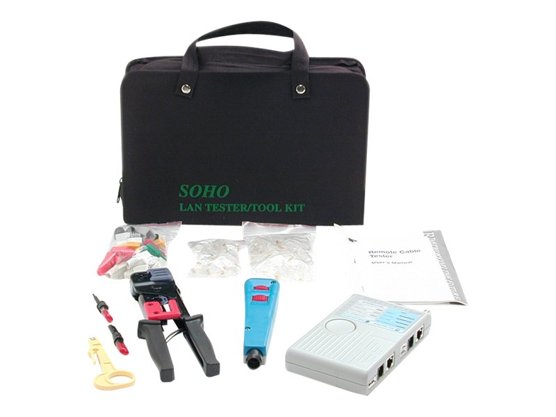 StarTech.com Professional RJ45 Network Installer Tool Kit with Carrying Case, CTK400LAN, 220135, Network Tools & Toolkits