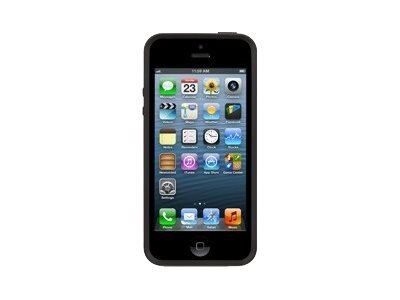 Griffin Reveal Case for iPhone 5 Black Clear, GB35589, 15119039, Carrying Cases - Phones/PDAs